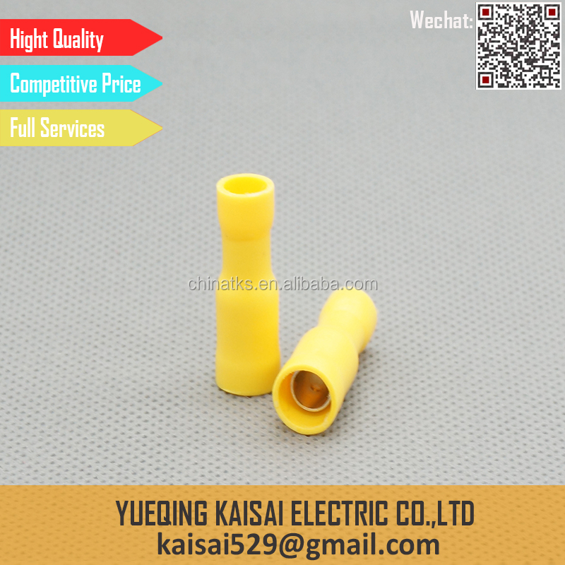 Manufacturer Bullet shaped female insulated terminal connector