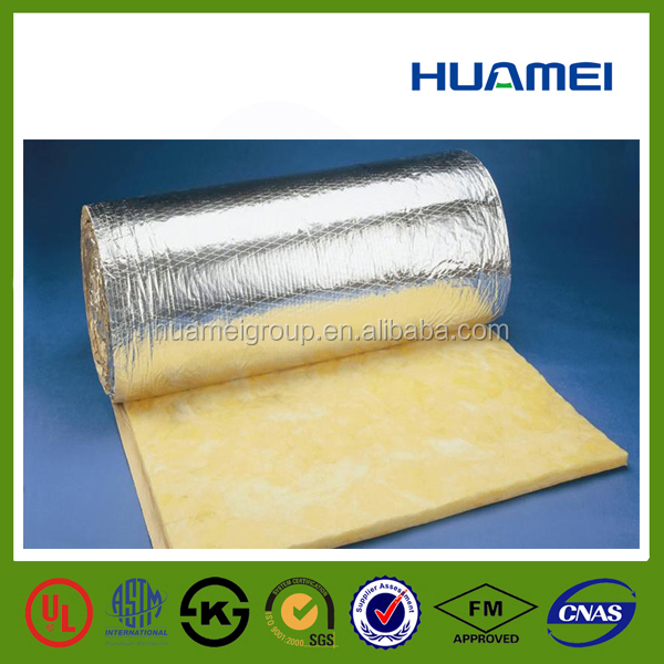 glass fiber vacuum insulation with aluminium foil price