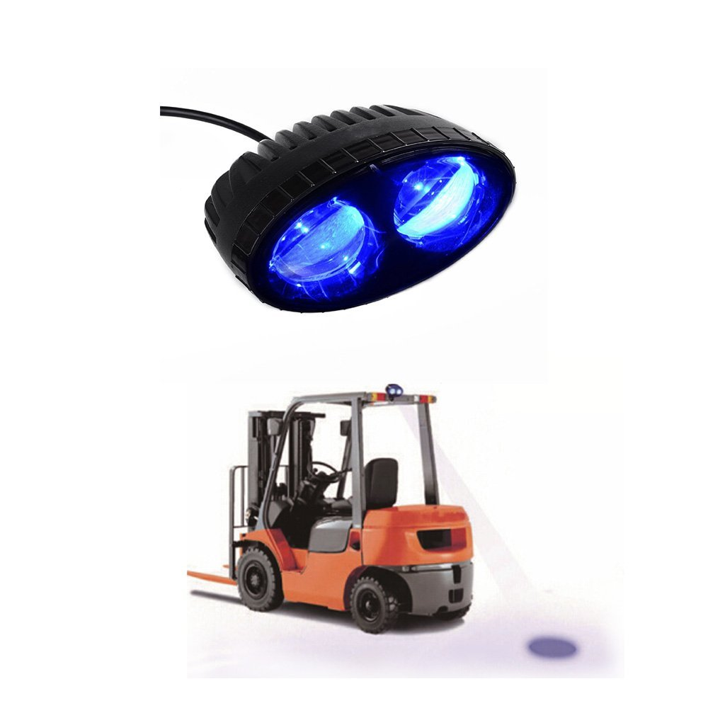 Forklift Safety Light 12V10W LED off road blue light forklift For truck used car atv 4x4