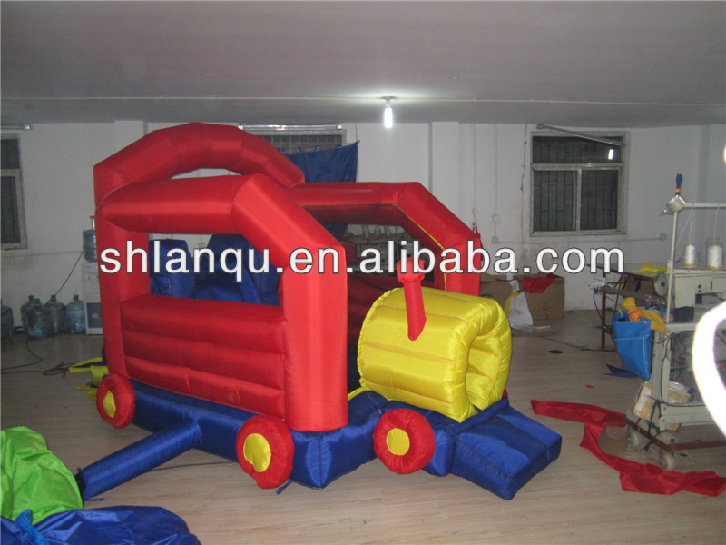 Mini Indoor Cheap Nylon Inflatable Commercial Bounce House