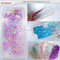 best selling luxury glitter quicksand phone case for iphone 5 5s 6s 6 7