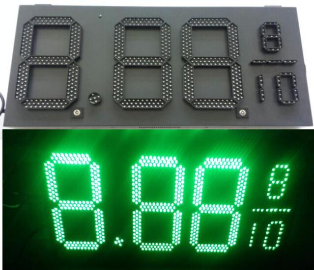 Hot sales LED Digital Gas Price Sign for Gas Station used