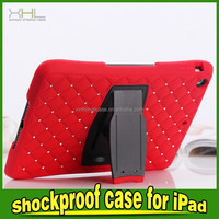 shockproof case cover for ipad mini,diamond case for ipad mini