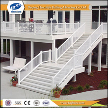 2017 hot new designs Plastic outdoor stair railing