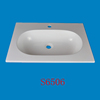 Fashion design acrylic material kitchen sink
