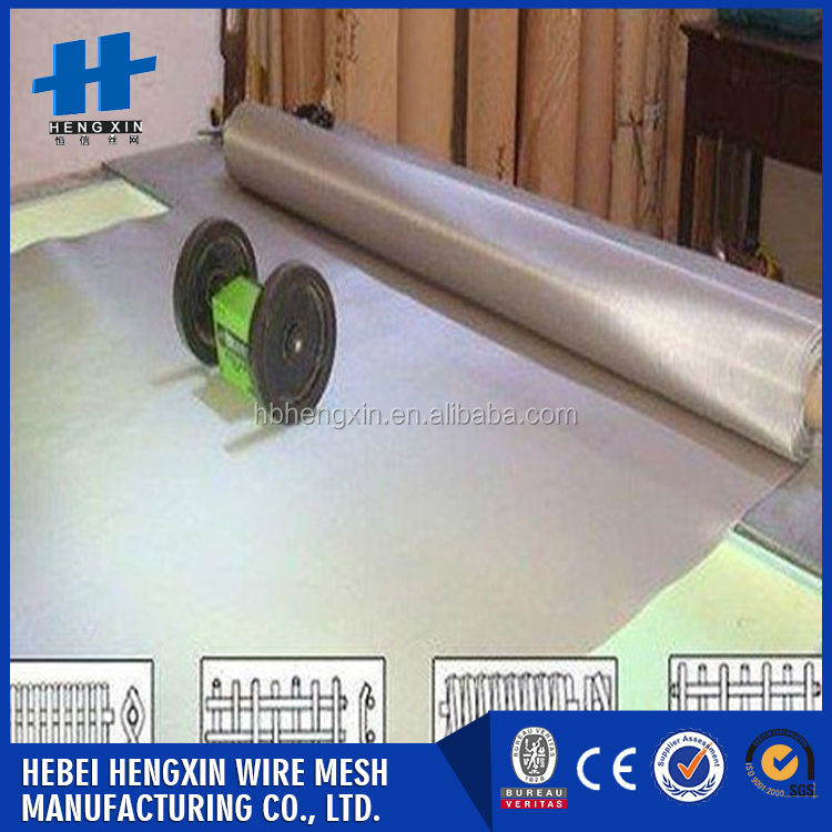 2016 hot selling High Tensile conveyor belt stainless steel mesh made in china