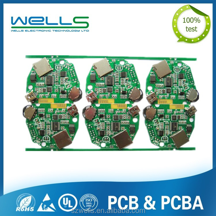 4 layer PCBA,DVD/DVB main board,PCB Assembly ,CopyPCB