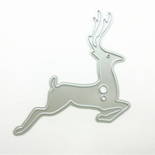 Running Deer Shape Cutting Dies Metal Craft for Decoration