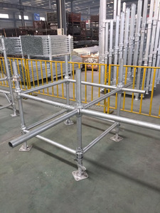 Long lasting and durable Cuplock scaffoldings from Chuzhou Jincheng