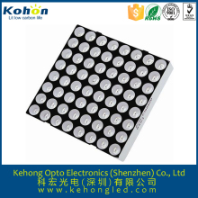 China best sale 3mm 8x8 rgb dot matrix led display for taxi