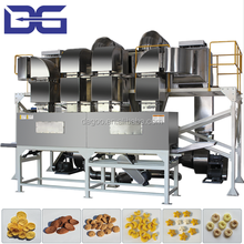 Automatic Double Screw Extruded Corn Fakes Breakfast Cereal Snack Food Extrusion Machinery Production Line