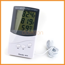 High-precision Double Temperature Display and Humidity meter