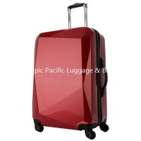 2015 New Arrival Fashion Style Promotional ABS PC Travelling Trolley Luggage