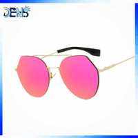 New style promotional Vintage metal fashion sun glasses polarized sunglasses