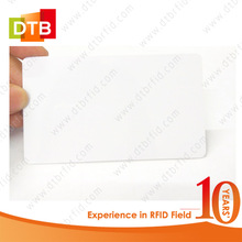 Factory Direct Price 13.56Mhz Bulk Blank Magnetic RFID Cards