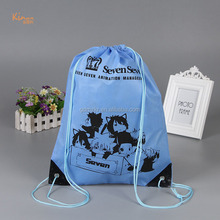 Direct from china wholesale blue school sport drawstring backpack bag