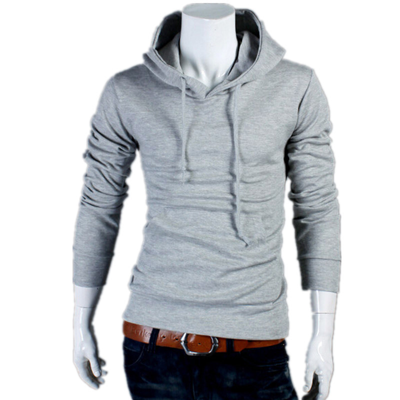 Free Shpping 2015 New Fashion Men's Fur Hoodies Sweatshirt, Hooded Jacket,Slim Fit Mens Sports Suit Hooded Coat,Plus Size