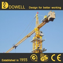 ISO&CE approved mobile traveling QTZ50 tower cranes