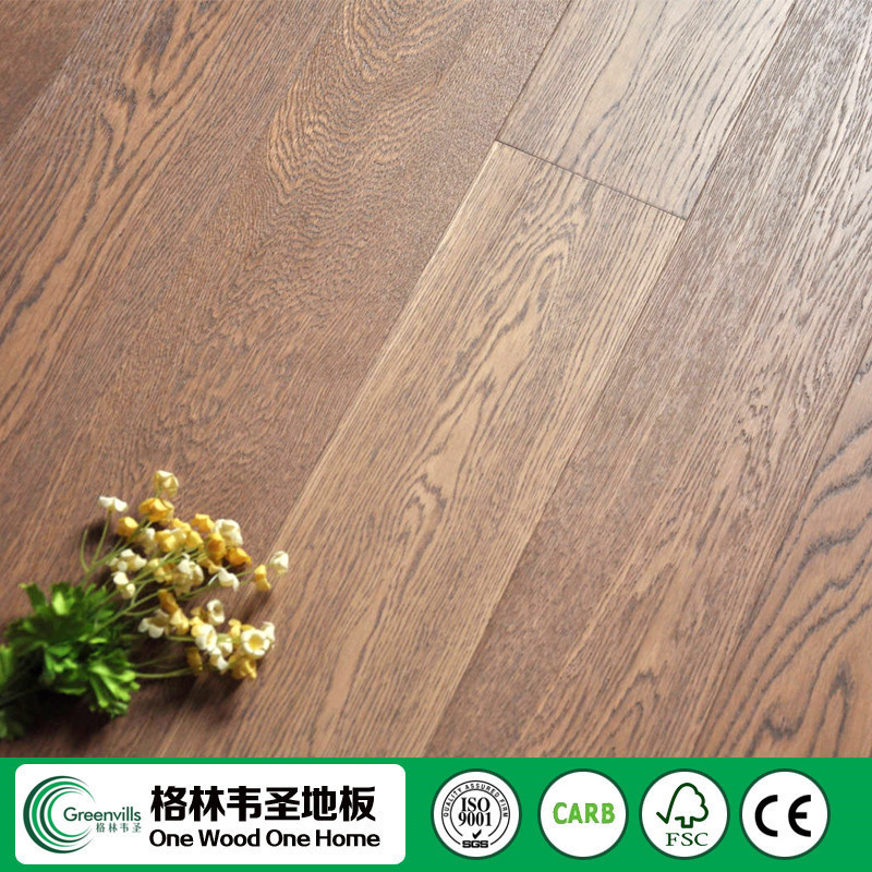 CE FSC oak parquet flooring timber wood dealers
