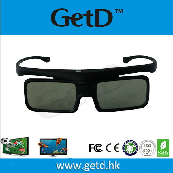 Factory Price!! cheap glasses to watch movies 3d fit for TVs--GH1600