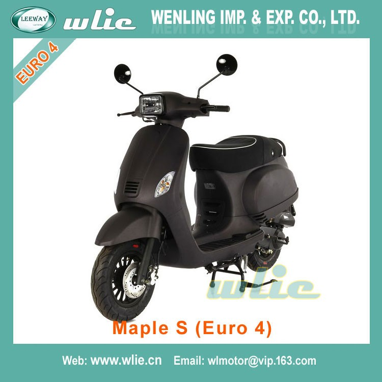 2018 New 250cc or 300cc scooter 2 wheels 125cc with eec approved Maple S 50cc/125cc (Euro 4)