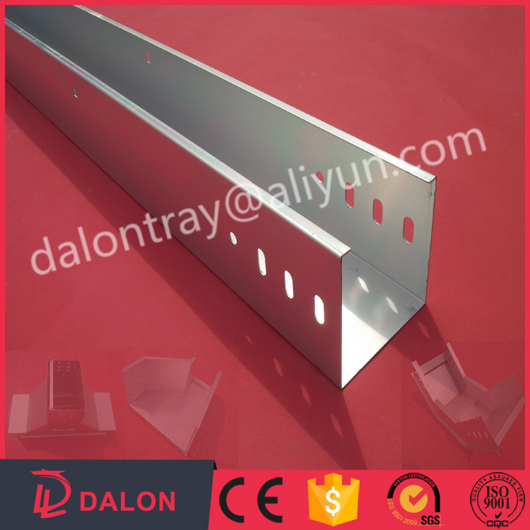 Hot Dipped Galvanizing Electric Trunking Type Cable Tray