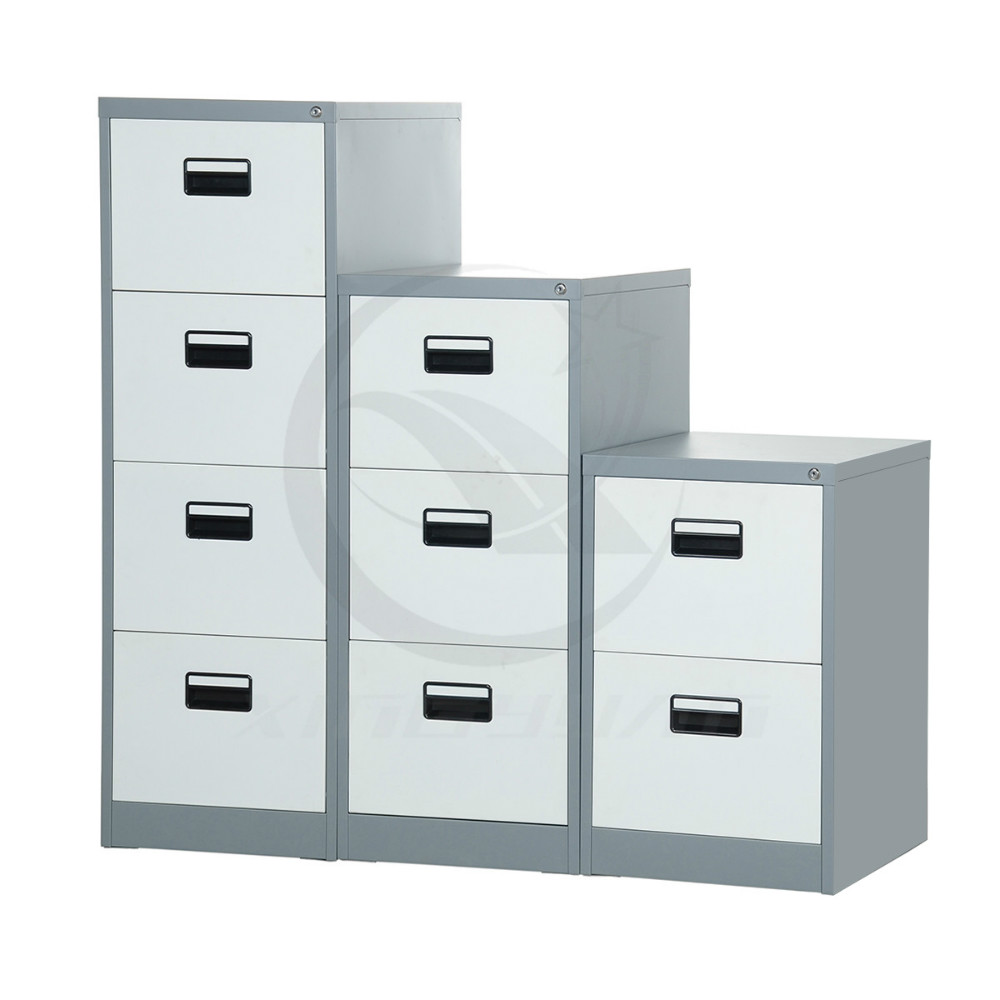KD cheap office hanging steel 4 drawer metal filing cabinet