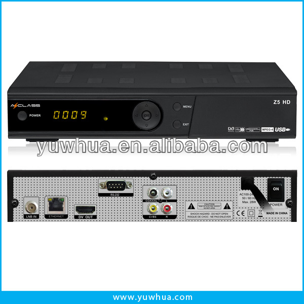 3G/ IPTV DVB-S2 Azclass Z5 HD satellite receiver better than Sunplus 1512/ openbox x5