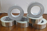 Thermal insulation building materials with aluminum foil tape