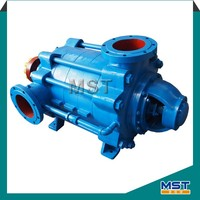 Horizontal multi-stage water sump pump