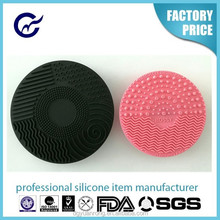 Suction Handle Silicone Face Massage Brush,Silicone Facial Brush
