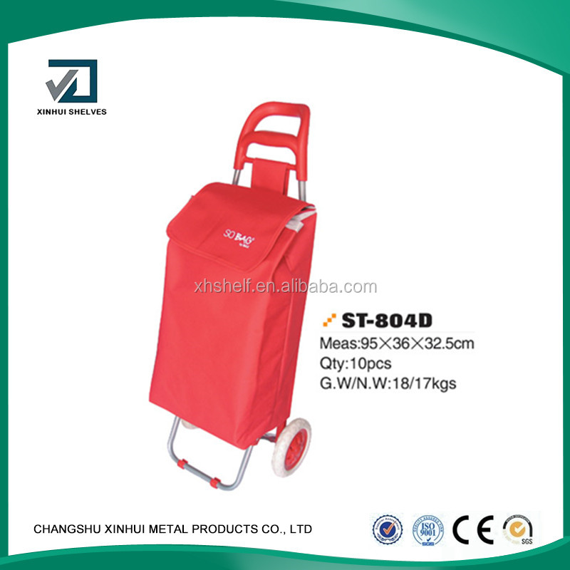 2016 High quanlity folding wheeled rolling shopping trolley cart bags,folding trolley bags,canvas trolley bags/shopping trolley