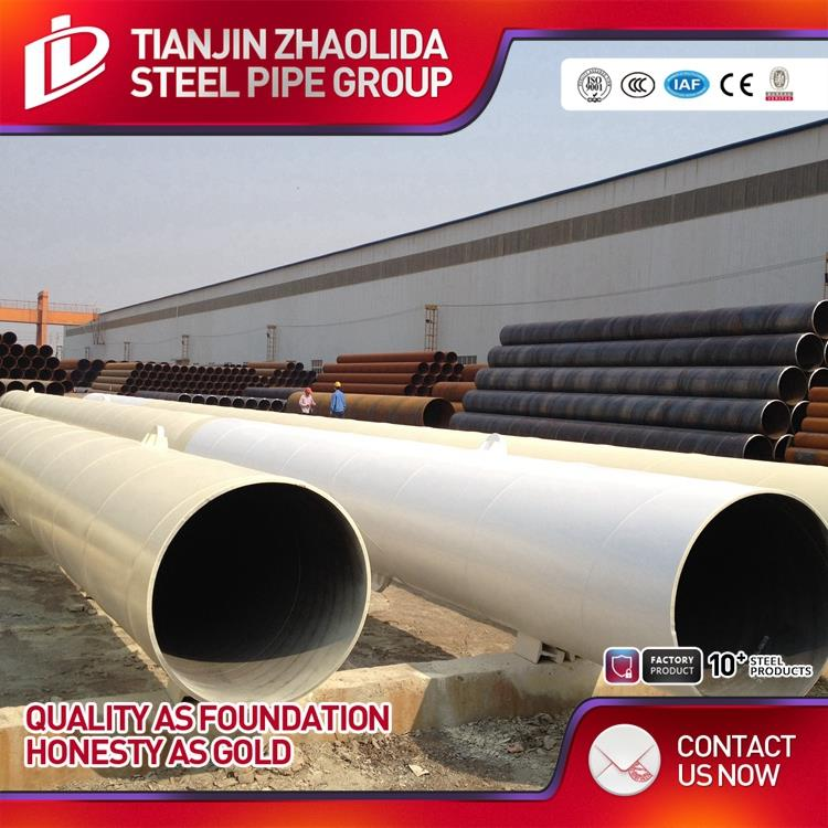 Zhaolida brand new high quality spiral welded pipe for oil and gas usage with CE certificate