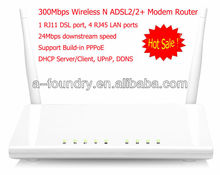 300Mbps Wireless 11N ADSL2/2+ Modem Router