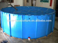 flexible and foldable pvc tarpaulin fish tank