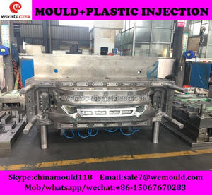 factory directly produce plastic injection front Bumper mould