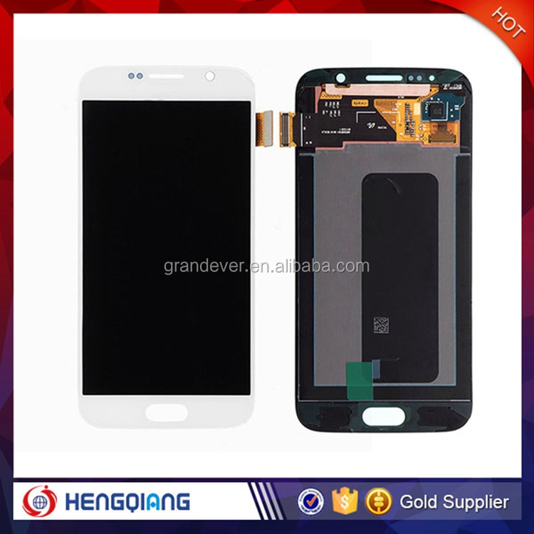 Wholesale mobile phones lcd touch screen display for Samsung galaxy S6 lcd