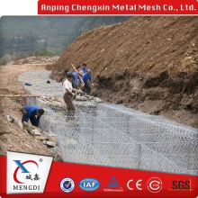 fence alibaba china knitted hexagonal gabion box metal wire mesh