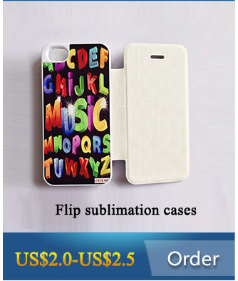 3D blank sublimation mobile phone case for iPhone 6/6s