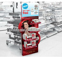Innovative Retail Paper Floor Display for Skin Care Product