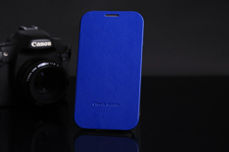PU leather cover with flip for samsung galaxy note 2 N7100