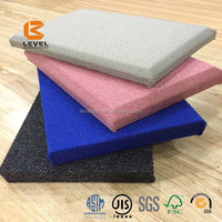 Fire Proof Lowes Cheap Wall Paneling Soundproof Material With Fabric Coated Acoustic Panels Clothing Fabric