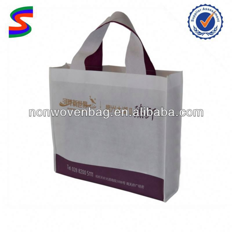 Non Woven 4 Bottle Wine Tote Bag Foldable Non Woven Recycle Bag