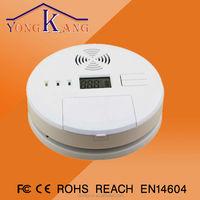 3v battery powered carbon monoxide detector alarm with zigbee HA/zigbee light link