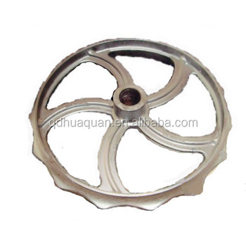 Cultivator cast iron wheels