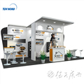 Detian Offer exhibition display stand tradeshow booth exhibit booth manufacturer
