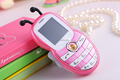 Christmas gift cheap phone 1.44 inch Dual standby Children Phones Bluetooth FM function