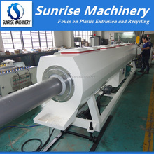 Turn Key Project Plastic PVC Pipe Machine / PVC Pipe Production Line