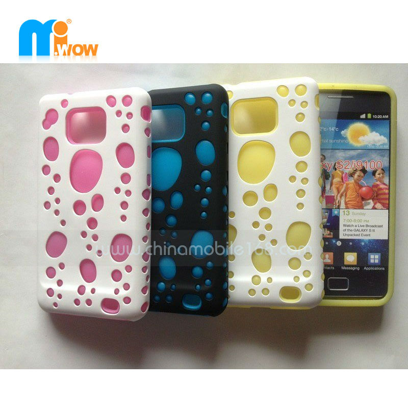 NEW TPU cell phone case for Samsung GALAXY S4 NOTE2 back cover