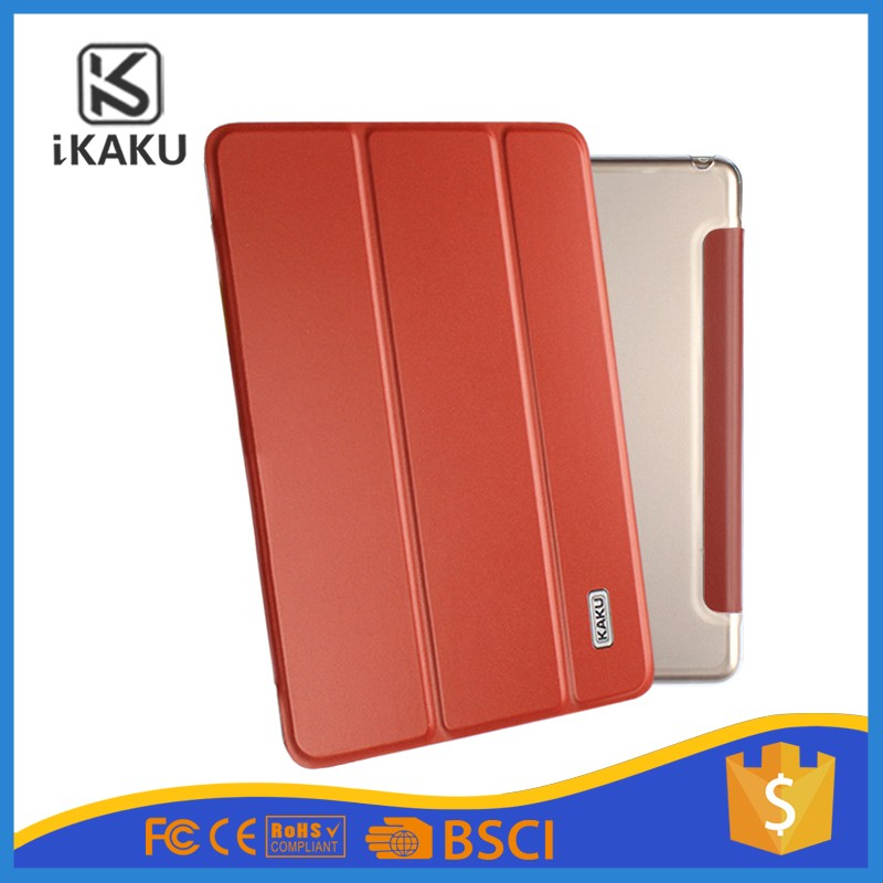 "KAKU high quality ultra-thin slim design 10.3"" tablet case / 10"" tablet case brown for ipad air"